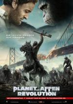 Filmposter Planet der Affen: Revolution