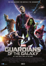 Filmposter Guardians of the Galaxy
