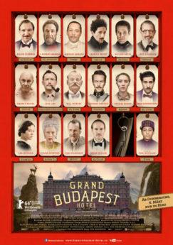 Filmposter Grand Budapest Hotel