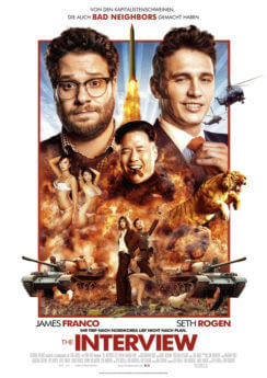 Filmposter The Interview