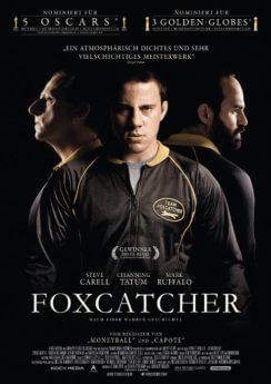 Filmposter Foxcatcher