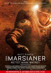 Filmposter Der Marsianer