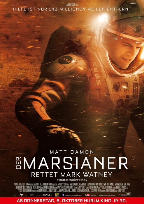 Der Marsianer Film