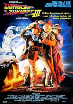 Filmposter Zurück in die Zukunft III