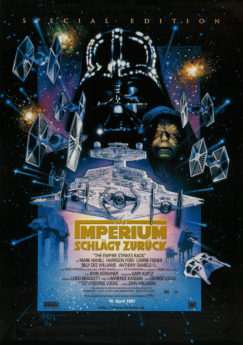 Filmposter Star Wars: Episode V