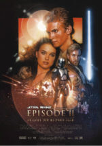 Filmposter Star Wars: Episode II