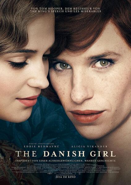 Filmposter The Danish Girl