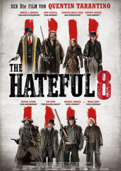 Filmposter The Hateful 8
