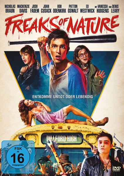 DVD-Cover Freaks of Nature