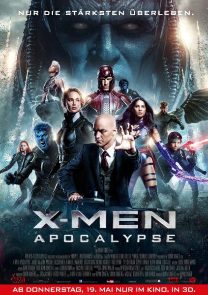 Filmposter X-Men: Apocalypse