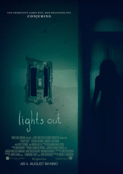 Filmposter Lights Out