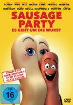 DVD-Cover Sausage Party