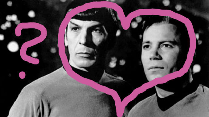 Fanfiction, Spock und Kirk