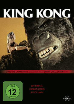DVD-Cover King Kong