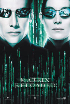Filmposter Matrix Reloaded