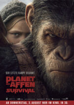 Filmposter Planet der Affen: Survival