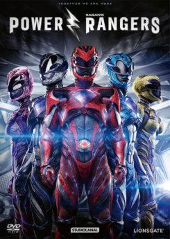 DVD-Cover Power Rangers