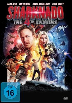 DVD-Cover Sharknado 4