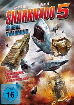DVD-Cover Sharknado 5
