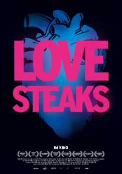 Filmposter Love Steaks