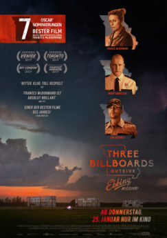 Filmposter Three Billboards