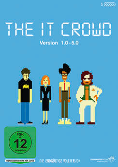 DVD-Cover The IT Crowd
