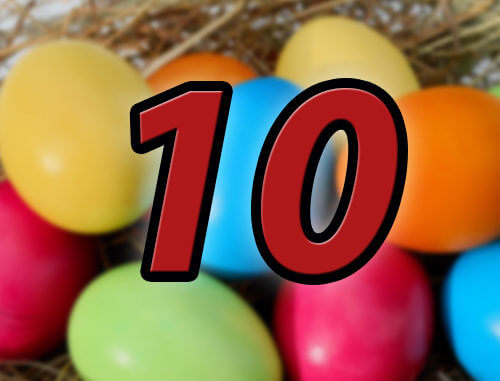 10 lustige Easter Eggs