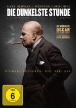 DVD-Cover Die dunkelste Stunde