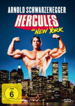DVD-Cover Hercules in New York