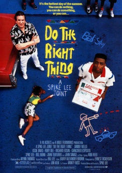 Filmposter Do The Right Thing
