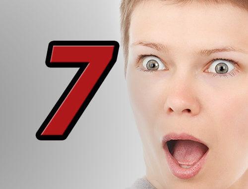 7 Überraschungen