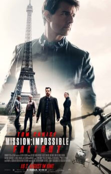 Filmposter Mission: Impossible – Fallout