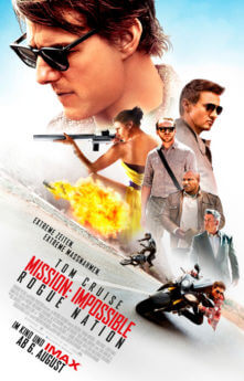 Filmposter Mission: Impossible – Rogue Nation