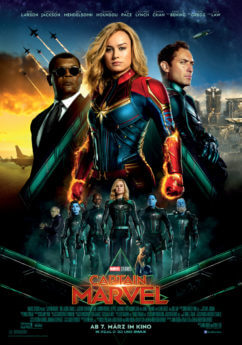 Filmposter Captain Marvel