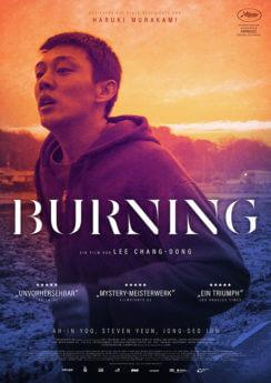 Filmposter Burning