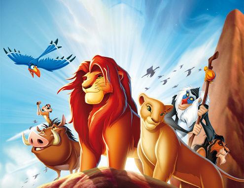 Filmposter Der König der Löwen