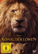 DVD-Cover Der König der Löwen (2019)