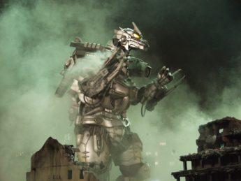Godzilla aus Stahl