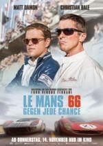Filmposter Le Mans 66