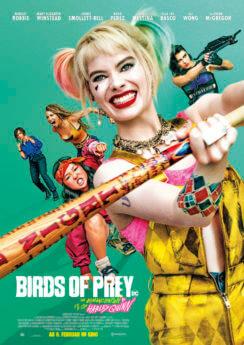 Filmposter Birds of Prey