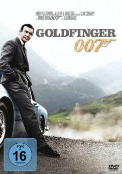DVD-Cover Goldfinger