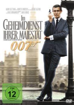 DVD-Cover James Bond 007: Im Geheimdienst Ihrer Majestät