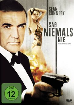 DVD-Cover Sag niemals nie