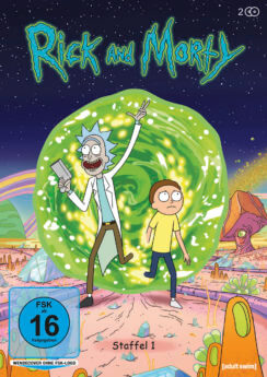 DVD-Cover Rick and Morty