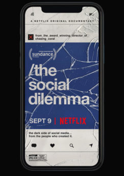 Filmposter The Social Dilemma