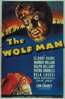Filmposter Der Wolfsmensch