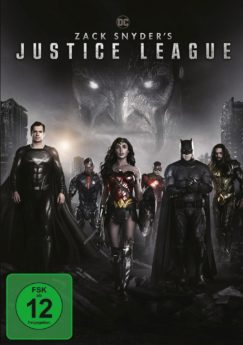 DVD-Cover Zack Snyder's Justice League