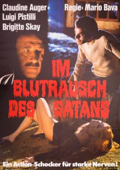 Filmposter Im Blutrausch des Satans