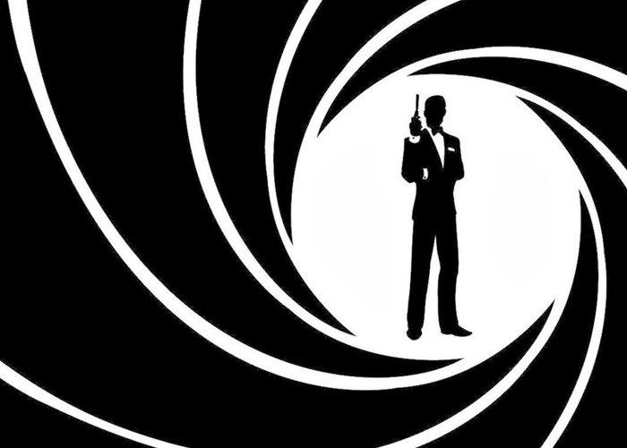Der James Bond Pistolenlauf